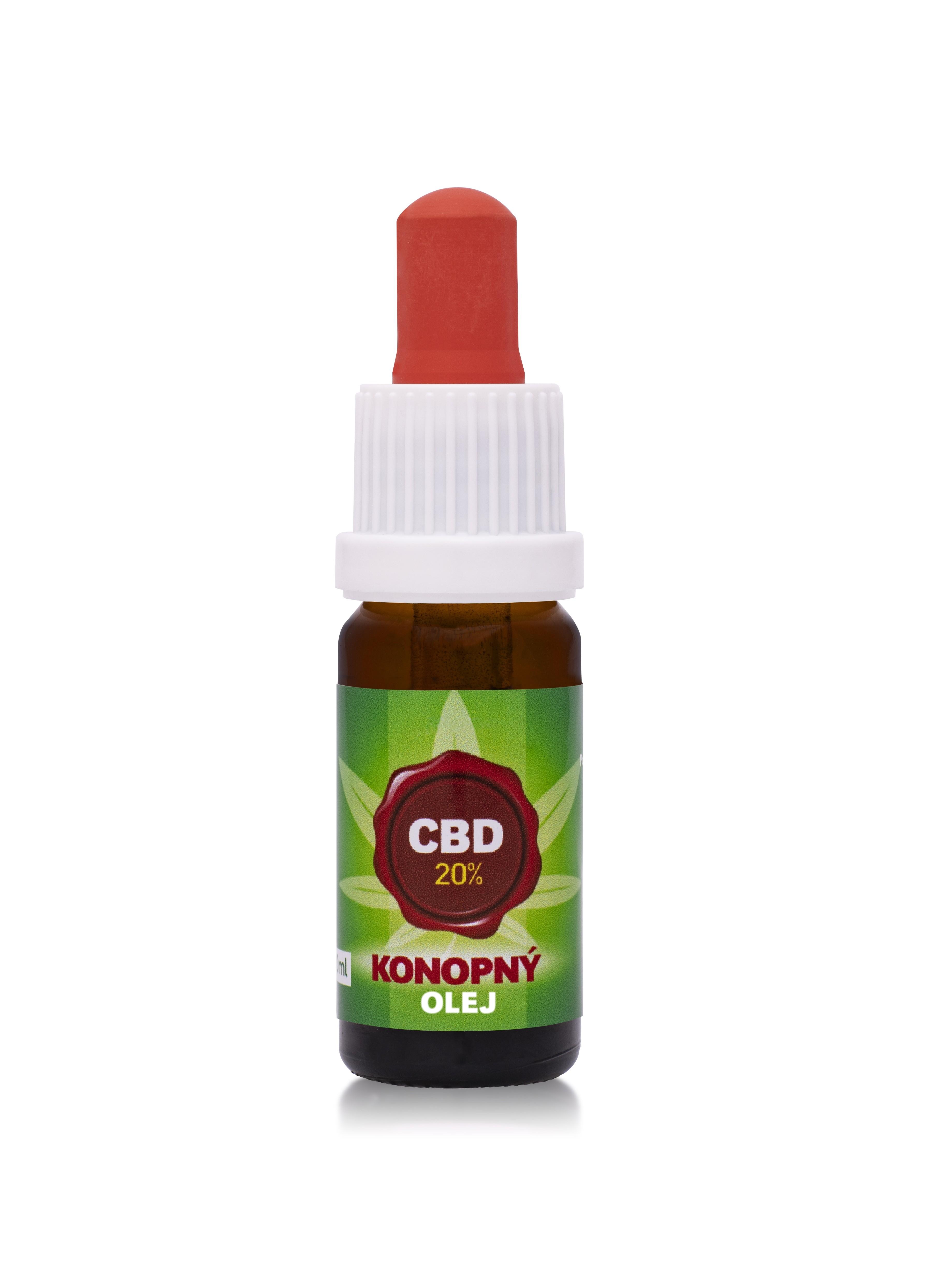 20% CBD - Konopný olej