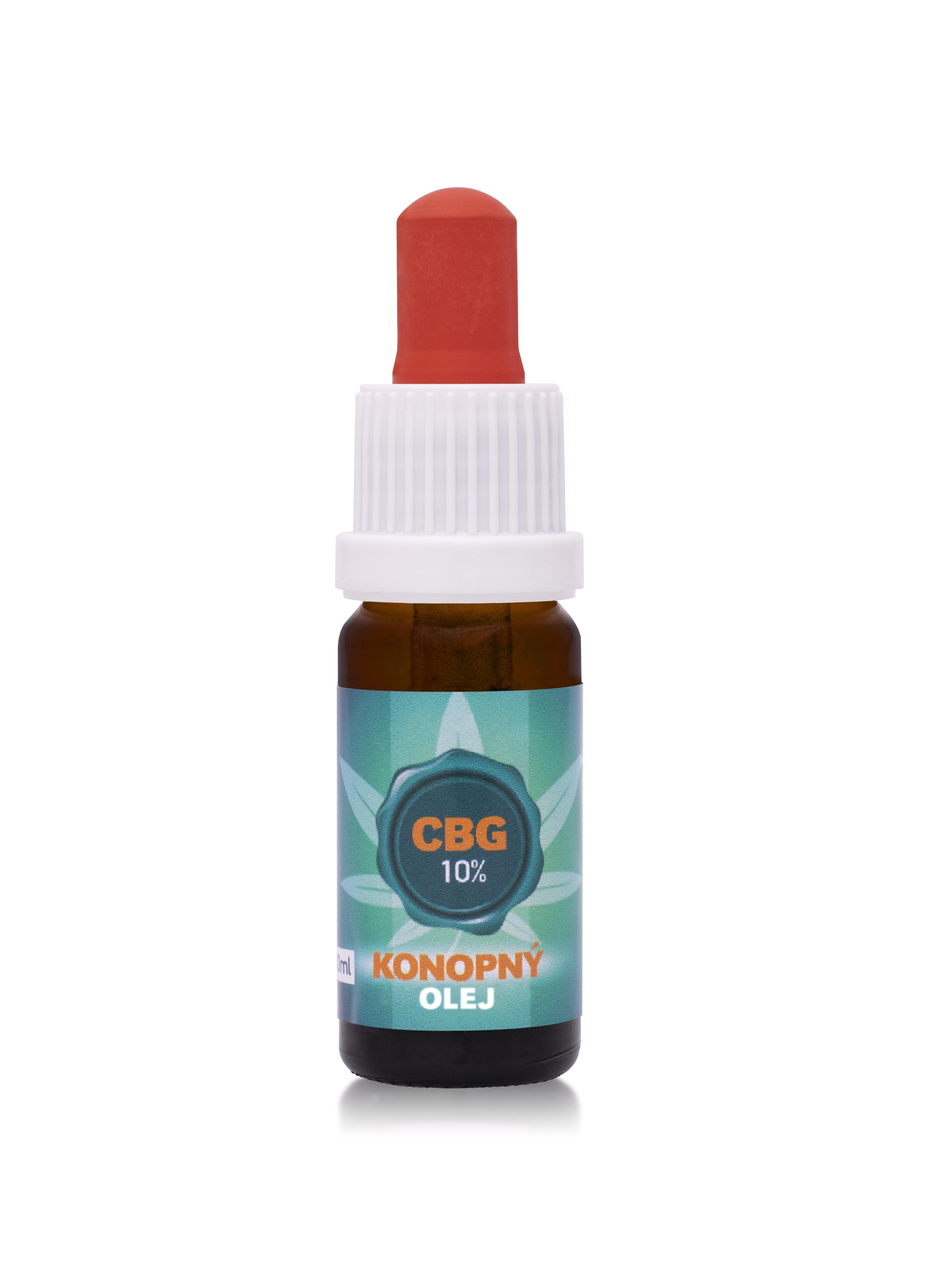 10% CBG - Konopný  olej