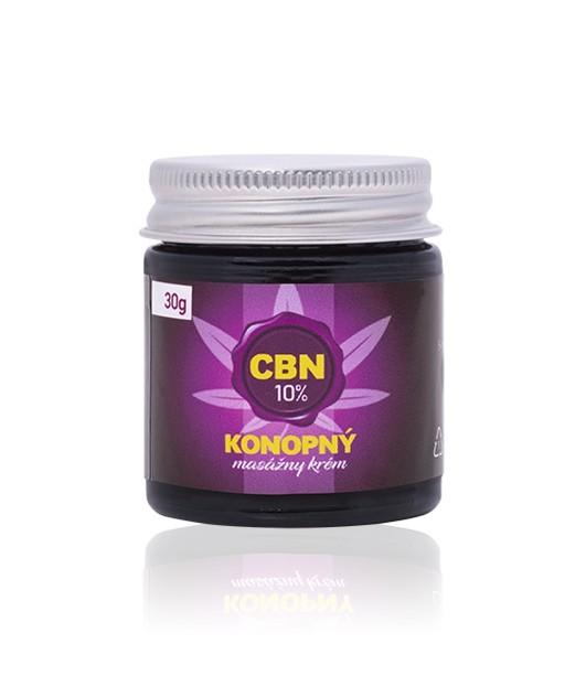 10% CBN - Konopný masážny krém