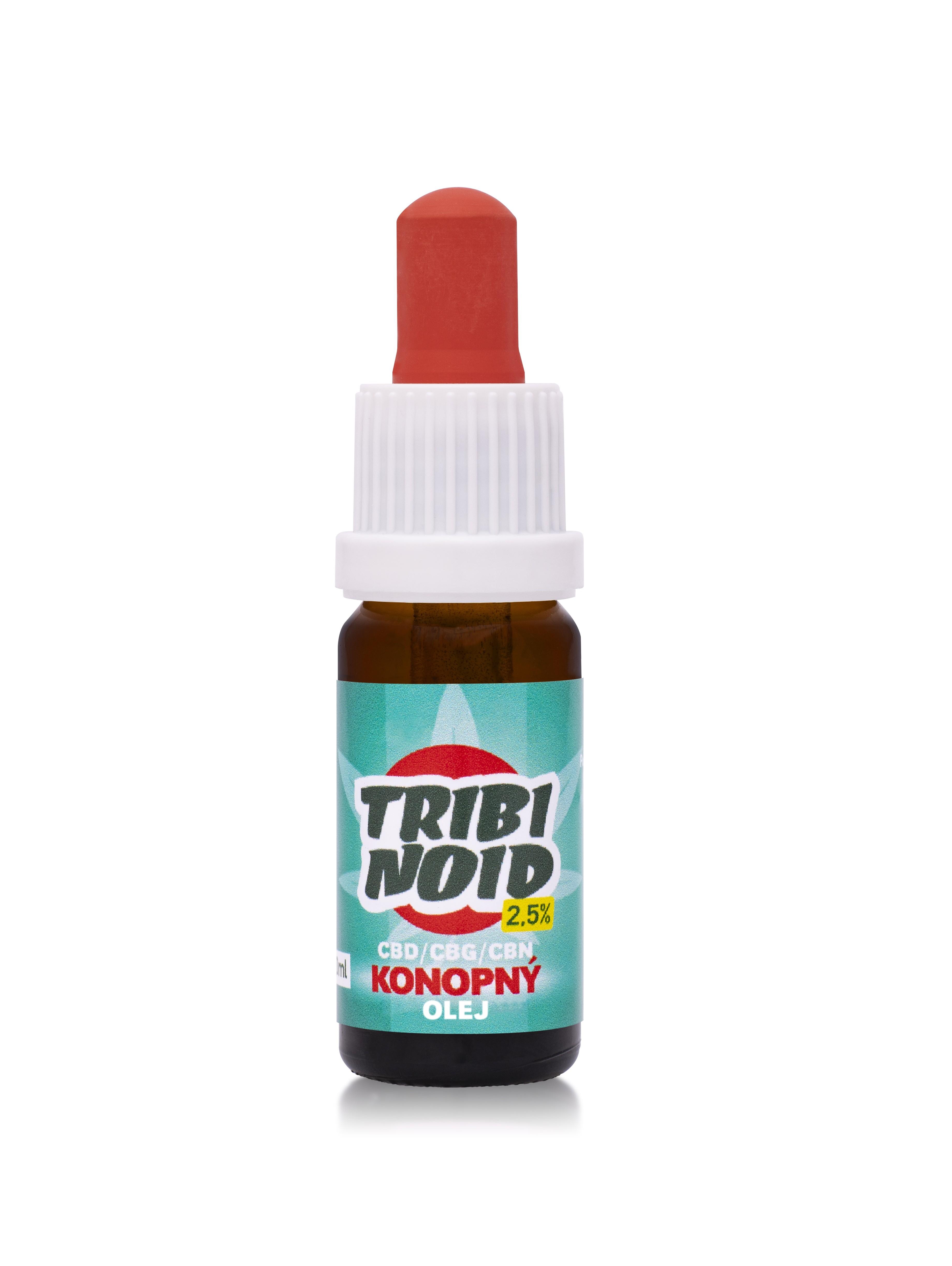 2,5% Tribinoid - Konopný  olej