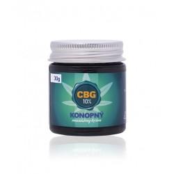10% CBG - Konopný masážny krém