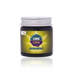 10% CBG / CBN - Konopný masážny krém