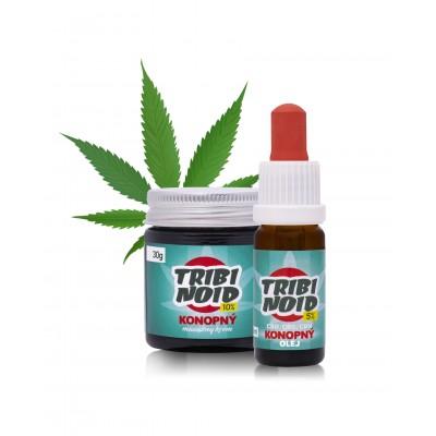 5% Tribinoid olej + 10% Tribinoid masážny krém